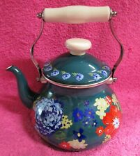 The Pioneer Woman Dazzling Dahlias 2 Quart Tea Kettle