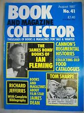 Book and Magazine Collector Magazine. Issue no. 41. August 1987. Ian Fleming