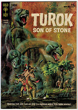 Turok #31 7.0 Off-White To White Pages Silver Age