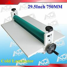 All Metal Frame 29.5In Manual Roll Cold Laminator Film Mount Laminating Machine