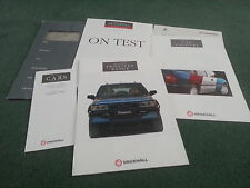 1992 Vauxhall FRONTERA EDITION 2 UK BROCHURE + COLOUR CHART + PRICES + ROAD TEST