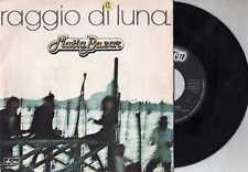 MATIA BAZAR  disco 45 MADE in ITALY Eurovision  RAGGIO DI LUNA + PERO CHE BELLO