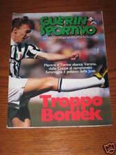 GUERIN SPORTIVO 1985/16 JUVE BORDEAUX INTER REAL MADRID CALCIOMONDO BAGGIO