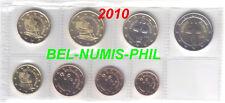 Cyprus 2010 - 8 Munten/Monnaies uit de rol/rouleauUNC