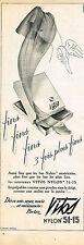 PUBLICITE ADVERTISING    1950   VITOS    bas & collants