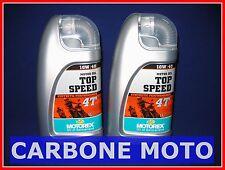 2 LITRI OLIO MOTOREX TOP SPEED 4T 10W40 SINTETICO