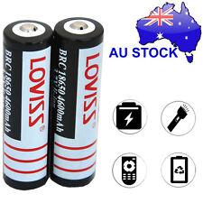 Rechargeable Loviss 18650 3.7V 4600mAh Lithium Battery For Headlamp Flashlight