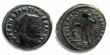 Impero Romano Costantino I Il Grande 307 337 DC Follis Bronzo 3,24 gr / 22 mm.