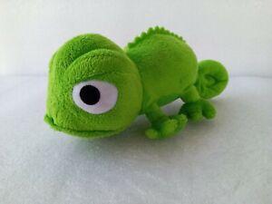 "Pascal 8"" Green Plush Toy Disney Iguana Chameleon"