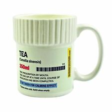 "Gift Republic ""Tea"" Pill Pot Mug Tea Coffee Cup Gift Box Novelty Gift Idea"