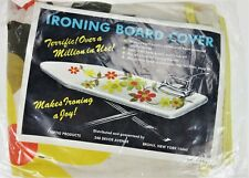 Ironing Board Cover Retro Vtg 60-70s Usa Fertig New DeadStock Sunflower
