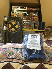 Marvel Collector Corps X-Men Complete Box Angel Funko Pop #424/Rock Candy/Pen