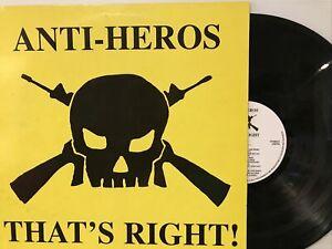 Anti-Heros – That's Right! LP 1997 Walzwerk Records – WWR 027 Ireland EX/EX