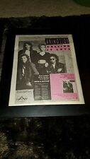 Animotion Calling It Love Rare Original Radio Promo Poster Ad Framed!