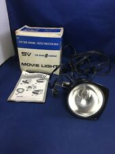 Vintage Smith Victor SV Q1U Movie Light with Original Box & Manual