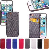 COQUE ETUI HOUSSE PORTEFEUILLE LUXE WAVE CUIR PU NEUF POUR APPLE IPHONE 6S SLIM