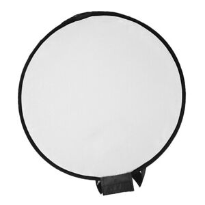 Black 400mm Portable Round Disc Soft Box Diffuser Flash for Camera Photography