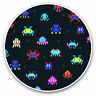 2 x Vinyl Stickers 20cm - Retro Space Game Arcade Gamer  Cool Gift #15963