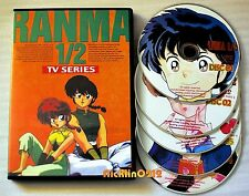 Ranma 1/2 TV Anime Season 1 + 2 Episodes 1# - 40 English 5 DVD Box Set New USA