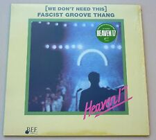 "NEU RSD 12"" VINYL HEAVEN 17 FASCIST GROOVE THING we don´t need Record Store Day"