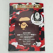 NEW* BAPE A Bathing Ape MAGAZINE FREE Tote Backpack BAG 2015 Autumn Winter Book
