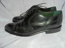 MARKS & SPENCER MEN'S LEATHER LACE UP BROGUES SHOES SIZE UK 11 EU 46 VGC