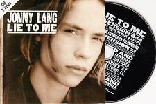 CD CARTONNE CARDSLEEVE 2T JONNY LANG LIE TO ME  DE 1997 TBE