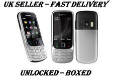 NEW CONDITION NOKIA 6303i CLASSIC SILVER BLACK UNLOCKED PHONE -BLUETOOTH  3.2 MP