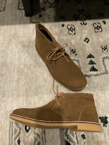 Propet Findley Chukka Boots Men's Size 15 3E X-Wide Tan
