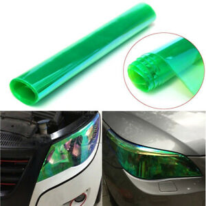 """12 x 60"" Chameleon GREEN Headlight Taillight Fog Light Tint Film Vinyl Decal"