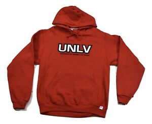 Russell Mens UNLV University Of Nevada, Las Vegas Hoodie New S