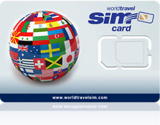 Global SIM card - Includes $20.00 Credit - Never Expires!