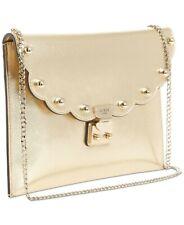 Guess  Fall In Love Clutch Handbag Metallic Studded Clutch Crossbody NWT $78