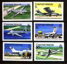 Cayman Island. Owen Roberts Airfield Stamp Set. SG477/82.1979. MNH.