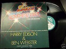 Harry Edison & Ben Webster-gruppo Editoriale Fabbri-lp
