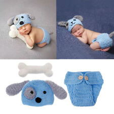 Photography Props Lovely Dog Costume Set knitting studio photography Newborn