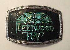 Vintage Fleetwood Mac Holographic Belt Buckle