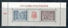 AUSTRIA - Block3 (Complete Issue) 1976 Burgtheater Mint Hinged