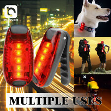 LED Night Safety Light Clip On Strobe Running Lights For Cycling Walking Warning