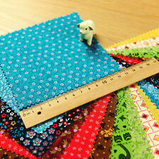Ditsy | 12.5cm 5'' Retro Country Cotton Charm Pack | 10 designs 20pcs  Patchwork