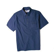 Fourstar Skateboards Clothing Boys Short Sleeve Pullover Shirt Blue 8-9 Years
