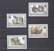 Burundi 1992 - MNH - Dieren / Animals (Wild Cats) WWF/WNF