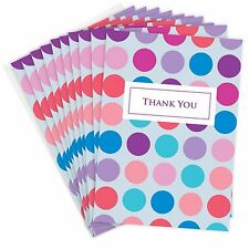 Olivia Samuel Pink and Blue Thank You Cards - A6 Folding +  Envelopes (Pack 10)
