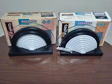 Lot Of 2 Halogen Lightstyles half Circle Light Fixture 150 Watt Bulb Model 1718