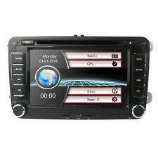 "VW Jetta Passat Caddy Amarok Golf 7"" Touch Car Stereo GPS DVD Player Radio Unit"