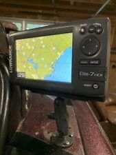 lowrance elite-7 hdi Used But No Cracks Or Scratches Also RAM Mount