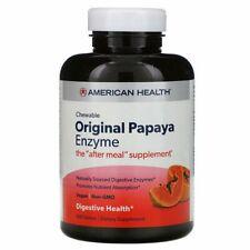 Original Papaya Enzyme - 600 Chewable Tablets by American Health