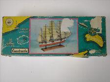 Vintage Constructo #U-60 Great Republic Clipper 1:265 Scale Wood Model Ship Kit