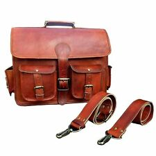 Bag Laptop Leather Briefcase Women Business New Womens Purse Handbag Messenger