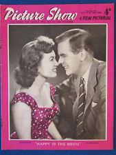 Picture Show Magazine - 8/3/1958 - Janette Scott & Ian Carmichael Cover